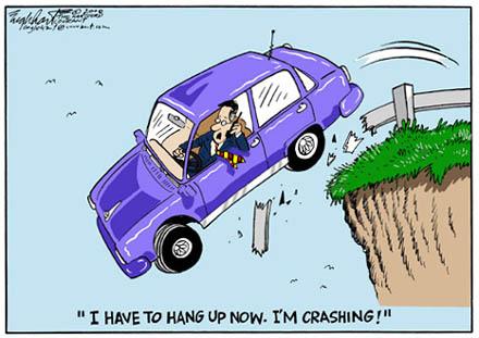 Hang up I'm Crashing