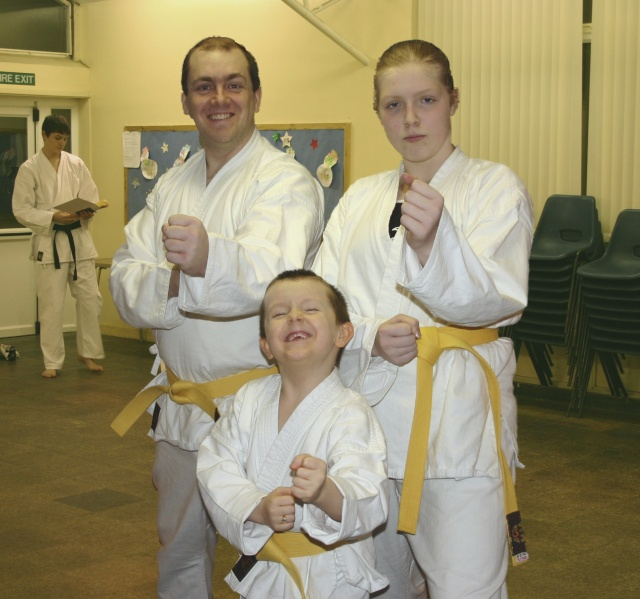 We Just Got Yellow Belts!
